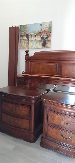 California King Bedroom Set. Ashley for Sale in Sun City, AZ