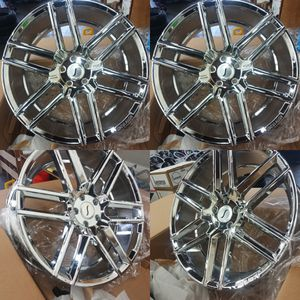 22 inch wheels and tires 5x120 brand new set for Sale in Lakewood, WA