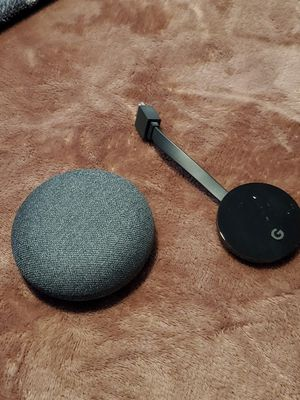 Google Home Mini and Chromecast 4k Ultra for Sale in Phoenix, AZ