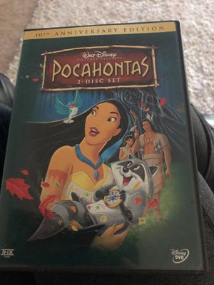 Pocahontas dvd for Sale in Sloughhouse, CA