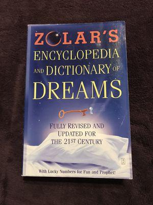 Zolar's Encyclopedia and Dictionary of Dreams for Sale in Harrisonburg, VA