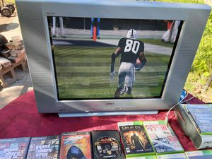 Sony 27inches TV with component, s video and RCA ports for Sale in Washington, DC