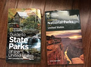 National Geographic state parks book set for Sale in Everett, WA