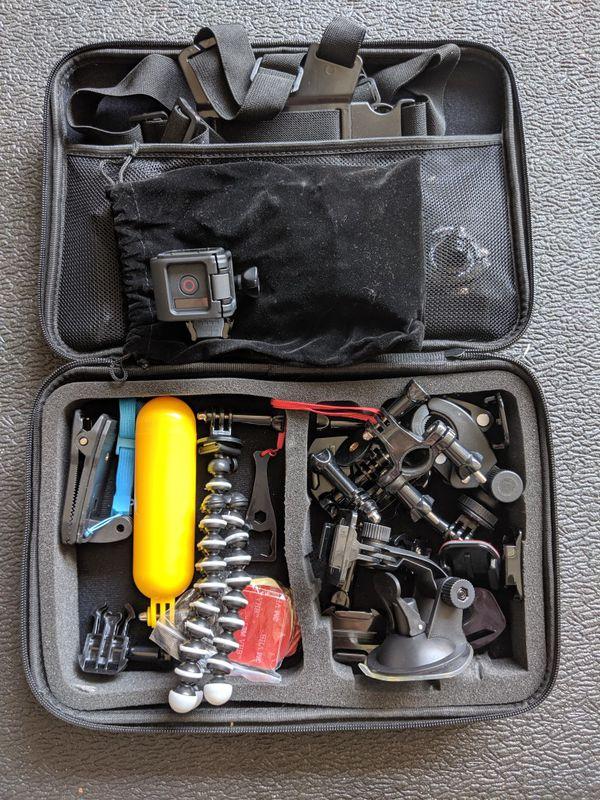 GoPro Hero 4 Session w/ accessories