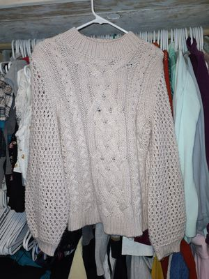 Marled Blush/Light Mauve Chunky Sweater for Sale in Lewisburg, PA