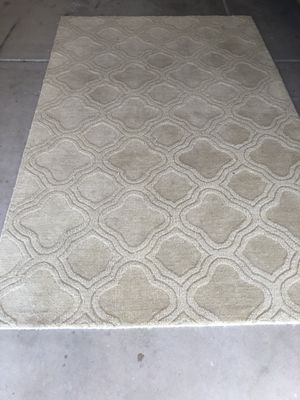 Beige area rug $50.00 for Sale in Goodyear, AZ