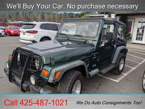 1999 Jeep Wrangler Sport 2dr Sport for Sale in Woodinville, WA