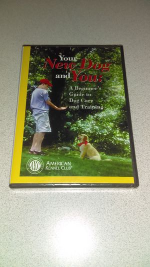 YOUR NEW DOG AND YOU DVD NEW FACTORY SEALED FROM AMERICAN KENNEL CLUB for Sale in Naperville, IL