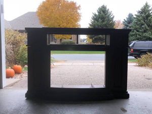 Fireplace TV storage cabine for Sale in Albertville, MN