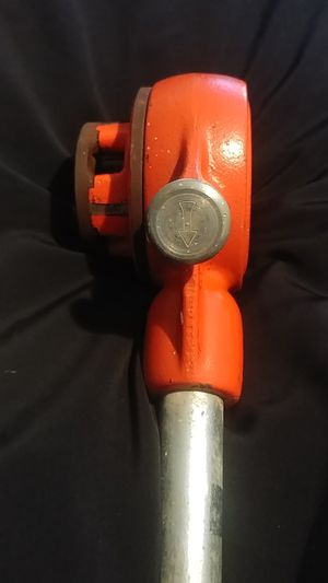 Ridgid Pipe Threader with Die for Sale in Tolleson, AZ