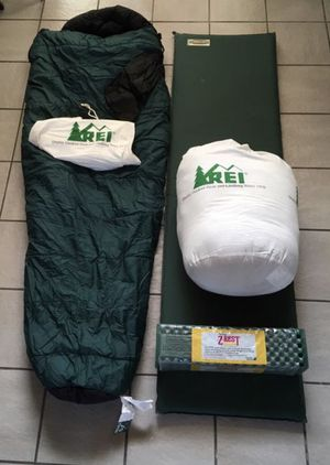 REI Sleeping Bags and Pads for Sale in Tempe, AZ