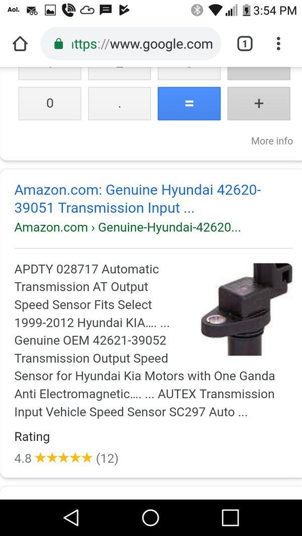 42620-39051 Genine Hyundai speed sensor