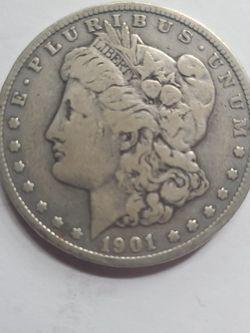 1901 O Morgan Silver Dollar for Sale in Karns City,  PA