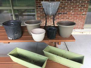 Misc Flower Pots for Sale in Newport News, VA