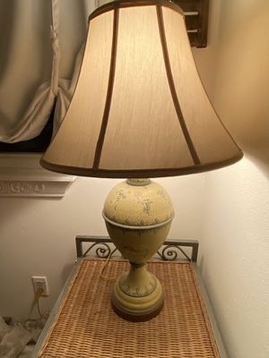 French Country / Shabby Chic Lamp with Cherubs for Sale in Chino, CA