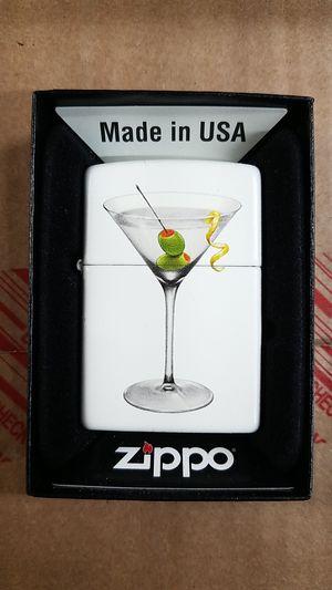 Zippo bs martini white matte 28271 for Sale in Los Angeles, CA