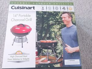 "Cusinart 14"" Portable Charcoal Grill for Sale in Norwich, CT"