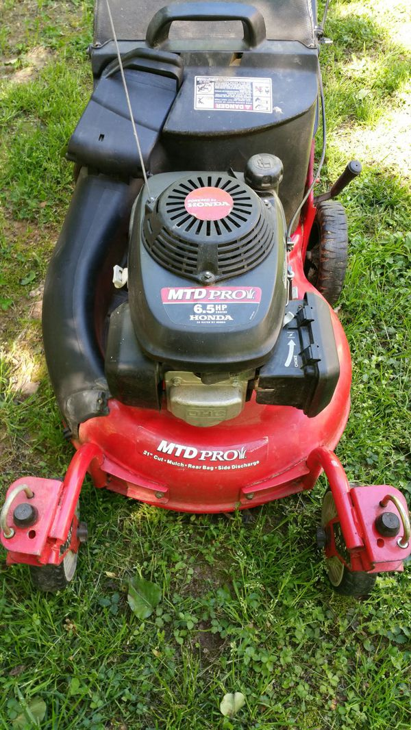 Mtd Pro Lawnmower W 6 5hp Honda Engine For In Fort Mill Sc Offerup