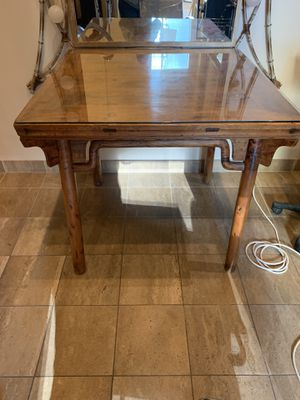 Square antique table for Sale in Seattle, WA