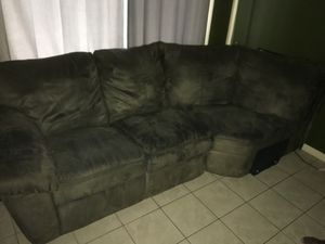 Soft Velvet Couch for Sale in Hollywood, FL
