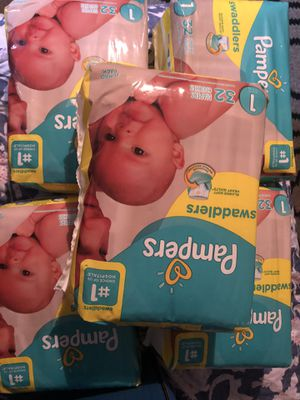 Pampers (size 1) & Huggies (size3) $6 a pack for Sale in Charlotte, NC