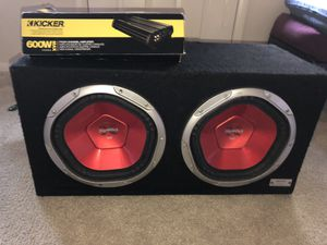 Double subwoofer for Sale in Silver Spring, MD
