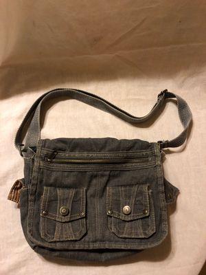 Washed Black Denim Mini Messenger Bag for Sale in Las Vegas, NV