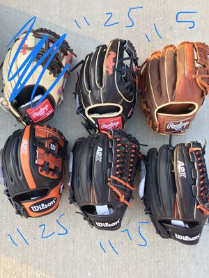 Rawlings pro preferred baseball glove new with tags and Wilson A2k $240 obo softball for Sale in Chino Hills, CA