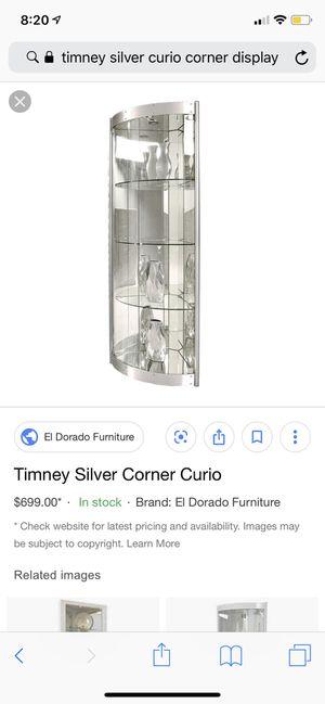 Glass display cabinet curio for Sale in Chula Vista, CA