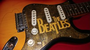 Custom Beatles Painted Spectrum Electric Guitar for Sale in NEW PRT RCHY, FL