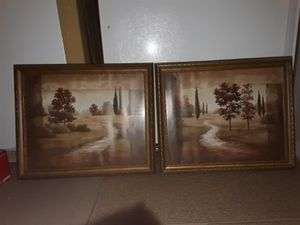Framed Artwork- Tuscan Italy for Sale in Kent, WA
