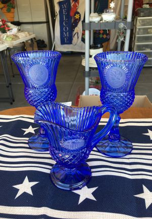 Blue Glass Collectibles for Sale in Las Vegas, NV