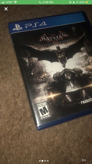 Batman ps4 game for Sale in Greenville, NC