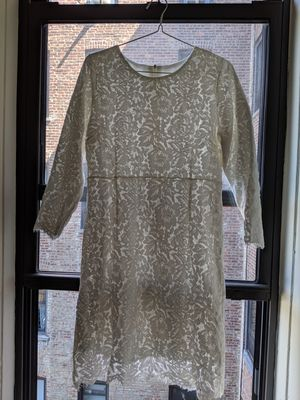 Elegant Lace Dress (fleece lining for winter) for Sale in Queens, NY