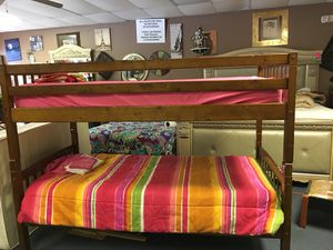 Bunk bed with mattress for Sale in Lexington, KY