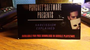 Narcissism Explained for Android available in Google Playstore. for Sale in Philadelphia, PA