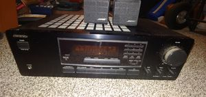 ONKYO TX 8211 RECEIVER AND 4 BOSE CUBES for Sale in Surprise, AZ