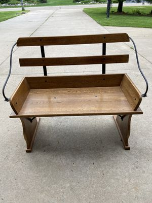 wooden bench for Sale in Eau Claire, WI