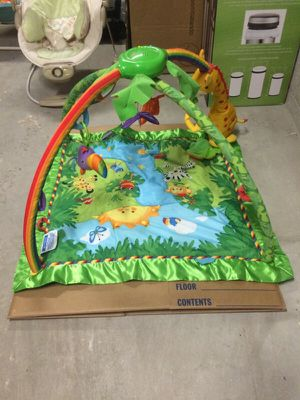 Fisher Price Rainforest Melodies Playmat baby newborn for Sale in Los Angeles, CA