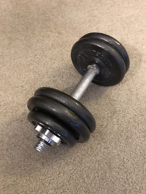 Adjustable dumbbell for Sale in Seattle, WA