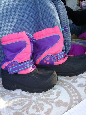 Snow boots, kids 13, ex cond for Sale in San Jose, CA
