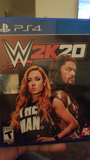 Ps4 WWE 2K20 for Sale in Fresno, CA