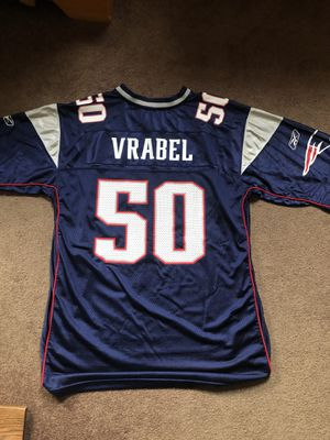 NFL New England Patriots Mike Vrabel Jersey Size XL for Sale in Warren, RI
