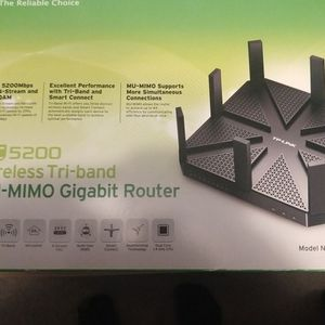 TP-LINK AC-5200 Gigabit Router With MU-MIMO for Sale in Pittsburgh, PA