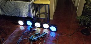 DJ uplights wireless and battery powered for Sale in Phoenix, AZ