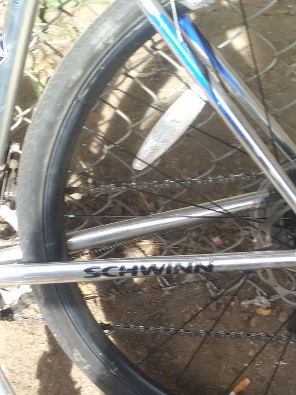 Its a prelude schwinn bike new tires