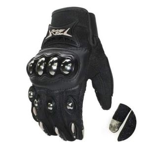 Gloves Stainless Steel Knuckles with Touchscreen for Motorcycle - Black / Blue / Red for Sale in Richmond, CA