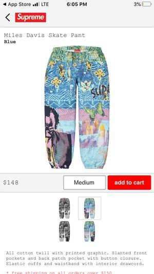 Miles Davis Skate Pant (SUPREME) for Sale in Columbus, OH