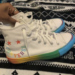 Rainbow Converse Women's 8 ! for Sale in Fort Worth, TX