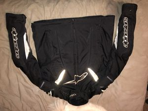 Alpinestars motorcycle jacket. Size L-XL for Sale in Beaverton, OR